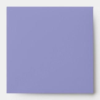Purple Teal Square Envelope