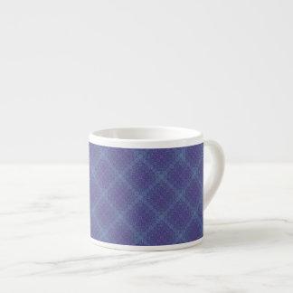Purple & Teal Squares Espresso Mug 6 Oz Ceramic Espresso Cup