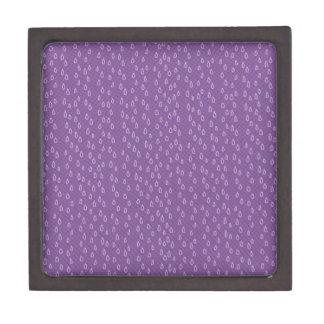 Purple Tears Jewelry Box