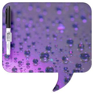 Purple Tears of Chronic Pain Dry Erase Whiteboard