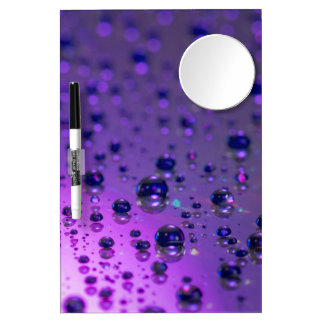 Purple Tears of Chronic Pain Dry Erase Board