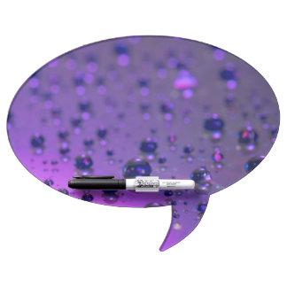 Purple Tears of Chronic Pain Dry Erase Whiteboards