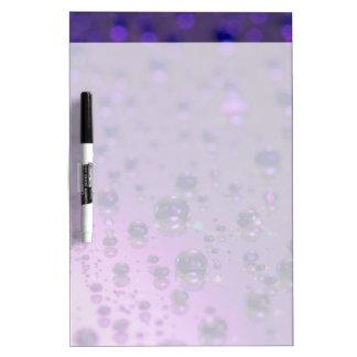 Purple Tears of Chronic Pain Dry-Erase Board