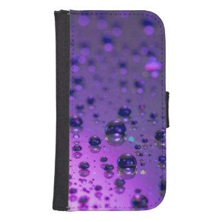 Purple Tears of Chronic Pain Galaxy S4 Wallet