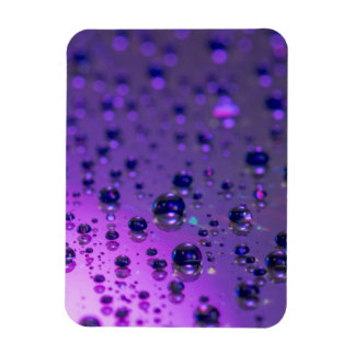 Purple Tears of Chronic Pain Rectangular Photo Magnet