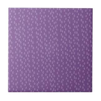 Purple Tears Tile