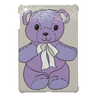 PURPLE TEDDY BEAR iPad MINI CASES
