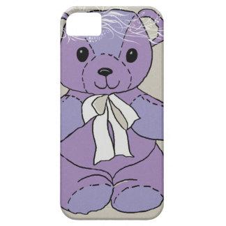 PURPLE TEDDY BEAR iPhone SE/5/5s CASE