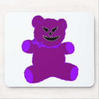 Purple Teddy Mouse Pad