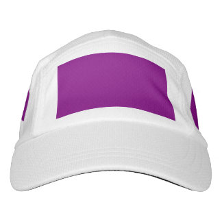 Purple template Customize with pictures and text Headsweats Hat
