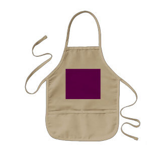 Purple template Customize with pictures and text Kids' Apron