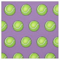 Purple Tennis Ball Fabric