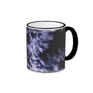 Purple Terrain Ringer Coffee Mug
