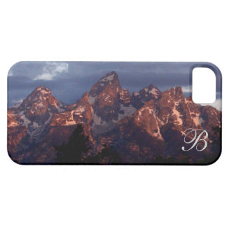 Purple tetons iPhone SE/5/5s case