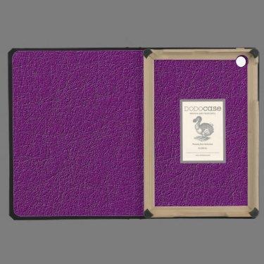 Purple texture iPad mini retina covers