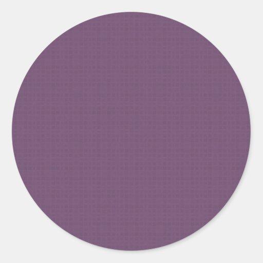 Purple Textured Pattern DIY Create Your Own Zazzle Sticker