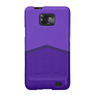 Purple textured point samsung galaxy s2 cover