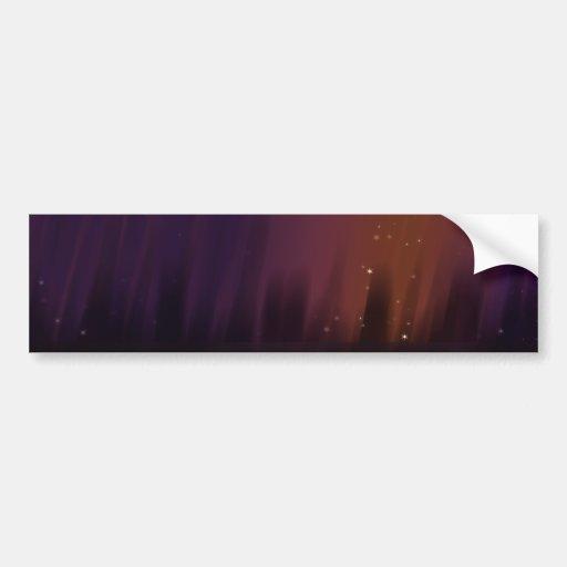 Purple Theater Car Bumper Sticker