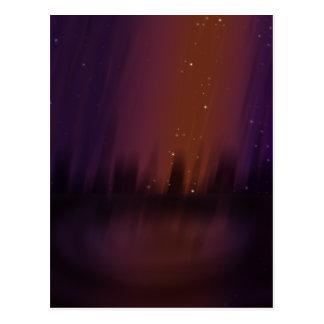 Purple Theater Postcard