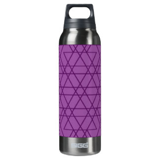 Purple thirst thermos bottle