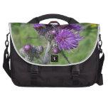purple thistle commuter bag