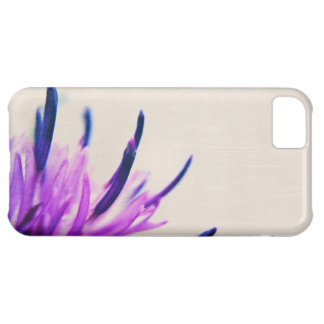 Purple Thistle Flower Petals iPhone 5C Cover