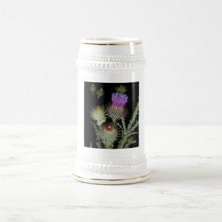 Purple Thistle 18 Oz Beer Stein