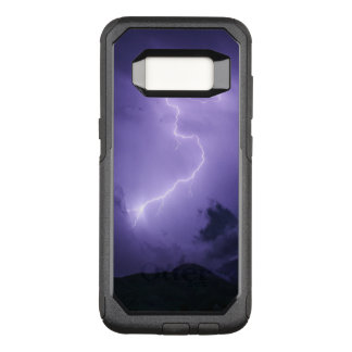 Purple Thunderstorm at Night OtterBox Commuter Samsung Galaxy S8 Case