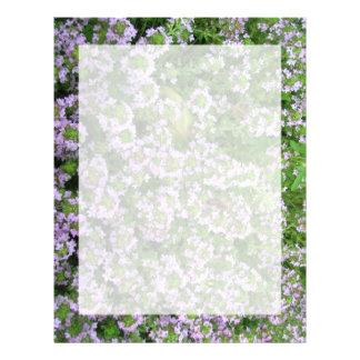 Purple Thyme Letterhead