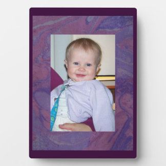 Purple Tie Dye Fun Frame Plaque