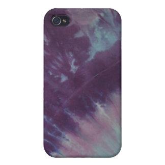 Purple Tie Dye iPhone 4 Case