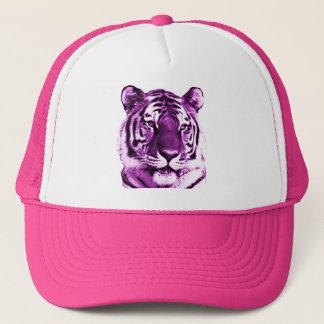 Purple Tiger Hat