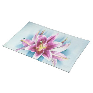 Purple Tiger Lilly American MoJo Placemat