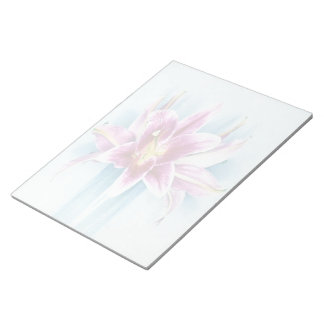 Purple Tiger Lilly Notepad