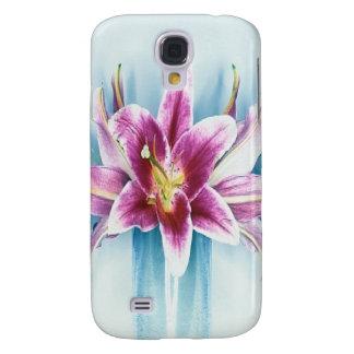 Purple Tiger Lilly Samsung S4 Case