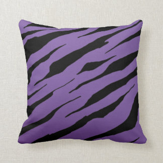Purple Tiger Stripe Pillows