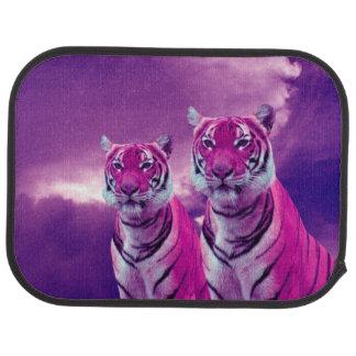 Purple Tigers Car Mat