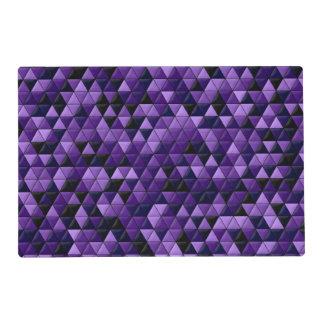 Purple Tiles Geometric Placemat