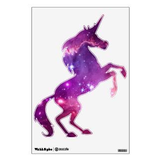 Purple Tinted Galactic Unicorn Wall Sticker