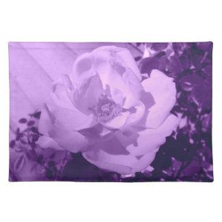 Purple Tinted Rose Placemat