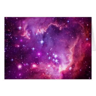 Purple Tinted Small Magellanic Cloud Card