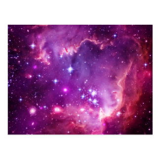 Purple Tinted Small Magellanic Cloud Postcard