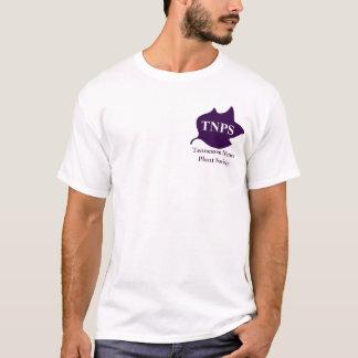 Purple TNPS Poplar Leaf Logo Tshirt