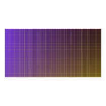 Purple to Gold Pattern Card