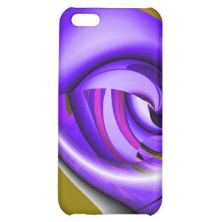 Purple Tornado Speck Case iPhone 5C Case
