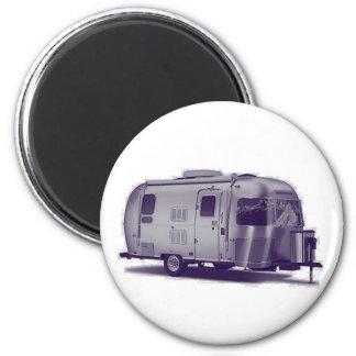 Purple Trailer 2 Inch Round Magnet