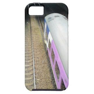 Purple Train, Railway Tracks, Tunnel, Traveling iPhone SE/5/5s Case