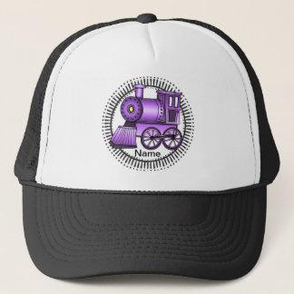 Purple Train Trucker Hat