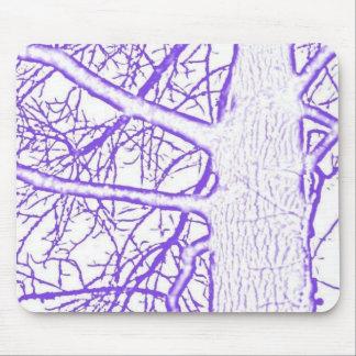purple tree 2 mouse pad