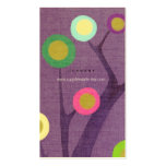 Purple Tree Business Card